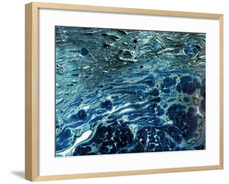 Malachite And Chrysocolla Minerals-Dirk Wiersma-Framed Art Print