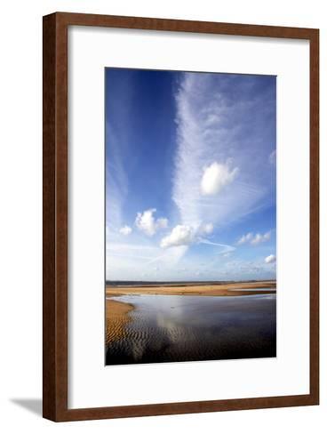 River Estuary-Dr. Keith Wheeler-Framed Art Print