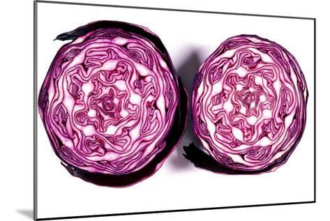 Halved Red Cabbage-Dr. Keith Wheeler-Mounted Photographic Print