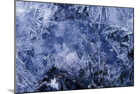 Ice Crystals-Dr. Keith Wheeler-Mounted Photographic Print