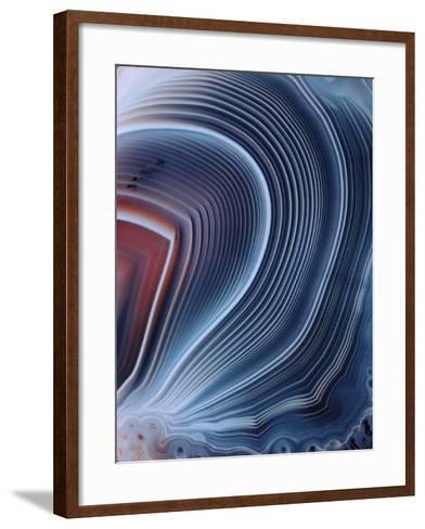 Agate Surface-Dirk Wiersma-Framed Art Print