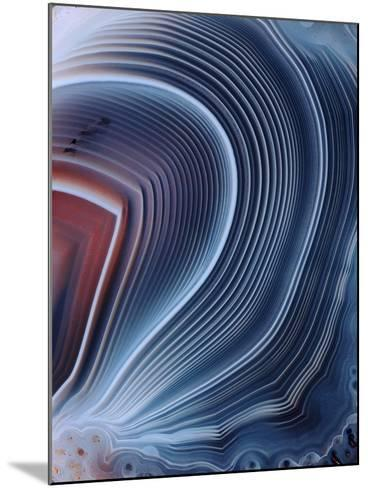 Agate Surface-Dirk Wiersma-Mounted Photographic Print