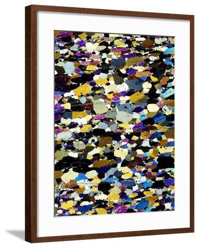 Lherzolite Ultra Basic Rock-Dirk Wiersma-Framed Art Print