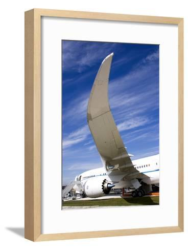 Boeing 787 Dreamliner At Farnborough-Mark Williamson-Framed Art Print
