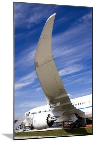 Boeing 787 Dreamliner At Farnborough-Mark Williamson-Mounted Photographic Print
