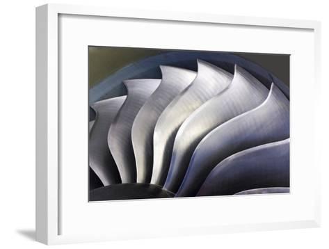 S-curve Fan Blades-Mark Williamson-Framed Art Print