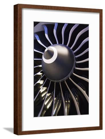 Aeroplane Engine-Mark Williamson-Framed Art Print