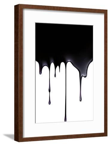 Fossil Fuel, Conceptual Image-SMETEK-Framed Art Print