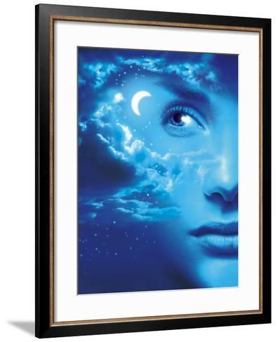 Dreaming, Conceptual Image-SMETEK-Framed Art Print