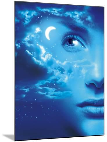 Dreaming, Conceptual Image-SMETEK-Mounted Photographic Print