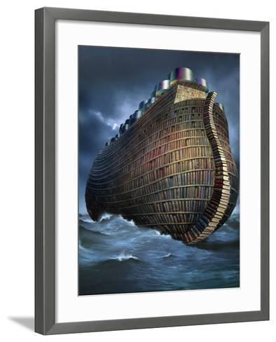 Preservation of Knowledge, Artwork-SMETEK-Framed Art Print