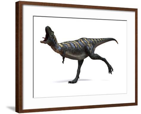 Aucasaurus Dinosaur, Artwork-SCIEPRO-Framed Art Print