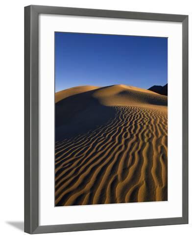Sand Dunes in Death Valley-Bill Ross-Framed Art Print