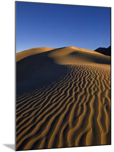Sand Dunes in Death Valley-Bill Ross-Mounted Photographic Print