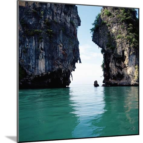 Thai coastline--Mounted Photographic Print