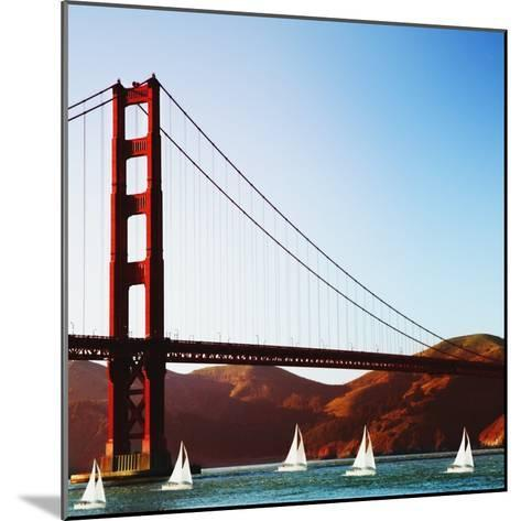 Golden Gate Bridge-JoSon-Mounted Photographic Print