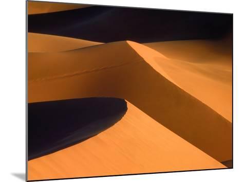 Dunes, Namib desert, Namibia-Frank Krahmer-Mounted Photographic Print