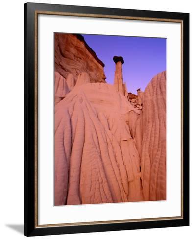 Wahweap Hoodoos, Grand Staircase Escalante National Park, Arizona, USA-Frank Krahmer-Framed Art Print