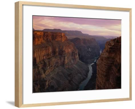Colorado River in the Grand Canyon-Danny Lehman-Framed Art Print