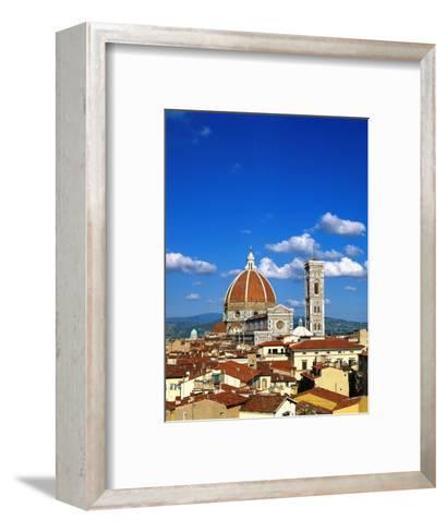 Santa Maria del Fiore in Florence-Jim Zuckerman-Framed Art Print