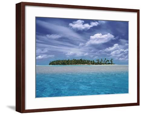 Tropical Island-Bill Ross-Framed Art Print