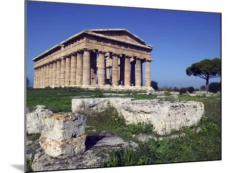 Ruins of the Temple of Neptune-Marco Cristofori-Mounted Photographic Print