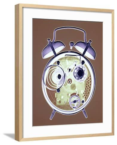 Cross-section of Alarm Clock--Framed Art Print