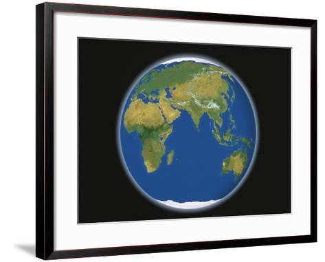 Earth-A^ Huber-Framed Art Print