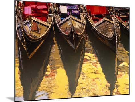 Gondolas, Venice, Italy-Sergio Pitamitz-Mounted Photographic Print