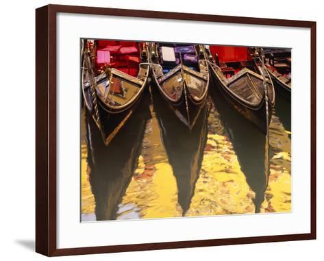 Gondolas, Venice, Italy-Sergio Pitamitz-Framed Art Print