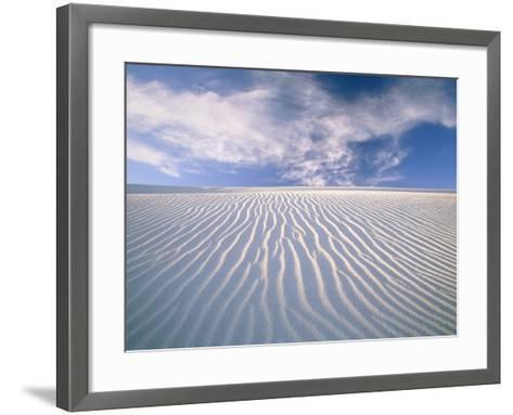 White Sands National Monument-Frank Lukasseck-Framed Art Print