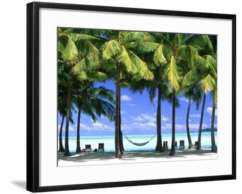 Aitutaki, Cook Islands, New Zealand-Peter Adams-Framed Art Print