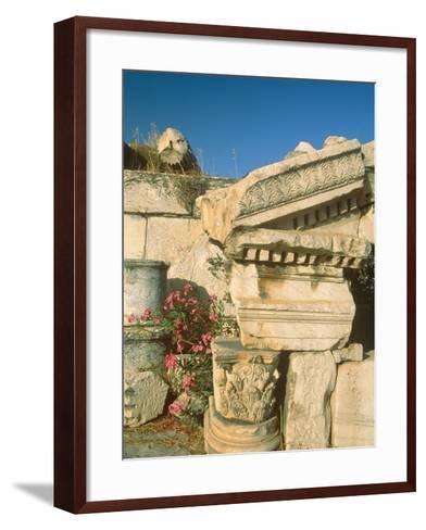Ruins of Elefsina, Attica, Greece-Rainer Hackenberg-Framed Art Print