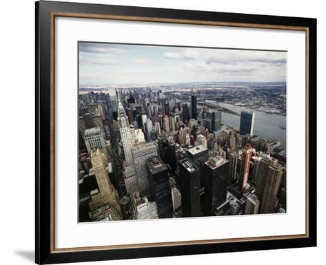 Midtown Manhattan-David Jay Zimmerman-Framed Art Print