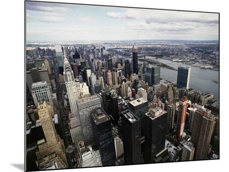 Midtown Manhattan-David Jay Zimmerman-Mounted Photographic Print