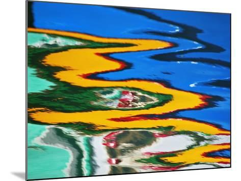 Colors Reflected in Ripples in Canal-William Manning-Mounted Photographic Print
