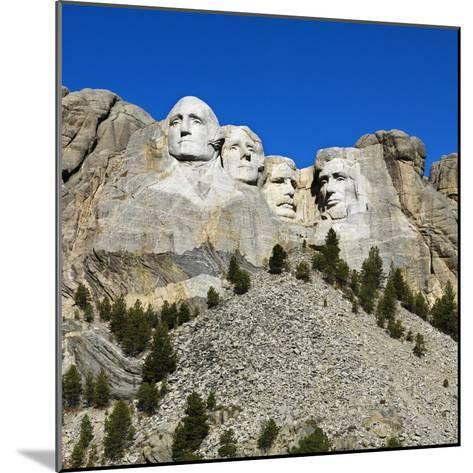 Mount Rushmore National Memorial-Ron Chapple-Mounted Photographic Print