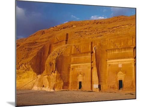 Tombs of Madain Saleh-Kazuyoshi Nomachi-Mounted Photographic Print