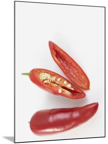 Prepared  Red Chili's--Mounted Photographic Print