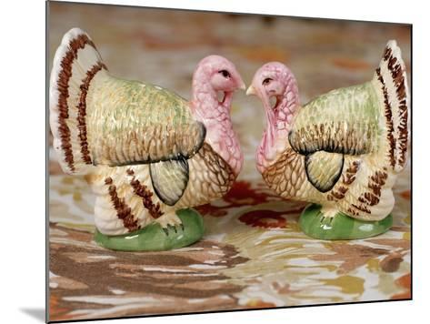 Turkey Saltcellar and Pepper Shaker Set-Stacy Morrison-Mounted Photographic Print