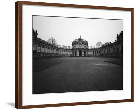 Zwinger Palace-Murat Taner-Framed Art Print