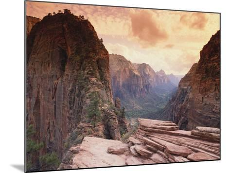 Angel's Landing--Mounted Photographic Print