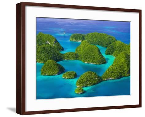Rock Islands-Bob Krist-Framed Art Print