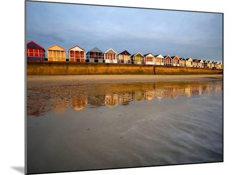 Southwold Beach Huts-Marc Bedingfield-Mounted Photographic Print