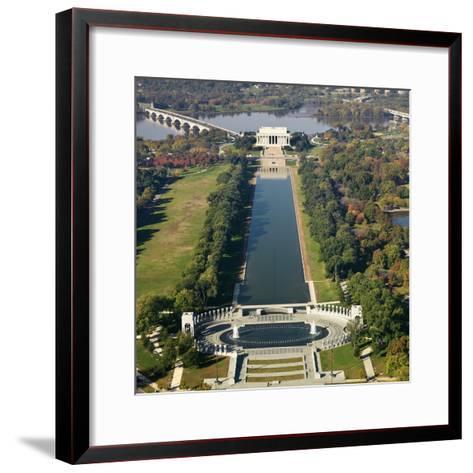 Lincoln Memorial-Ron Chapple-Framed Art Print