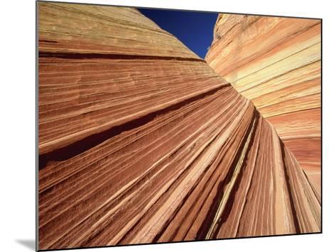 Sedimentary Pattern on Rock USA-Theo Allofs-Mounted Photographic Print