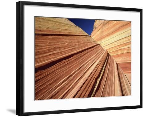 Sedimentary Pattern on Rock USA-Theo Allofs-Framed Art Print