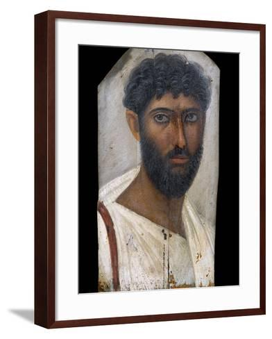 Fayum Portrait of a Bearded Man-S^ Vannini-Framed Art Print