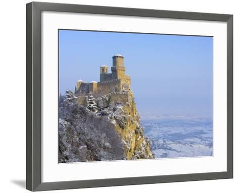 The Second Tower-Jim Zuckerman-Framed Art Print