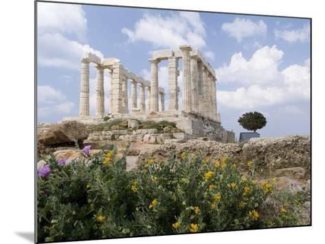 Temple of Poseidon-Richard Nowitz-Mounted Photographic Print